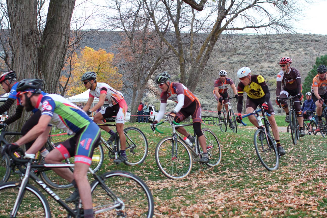Chris starts at the back of the Men's Masters field