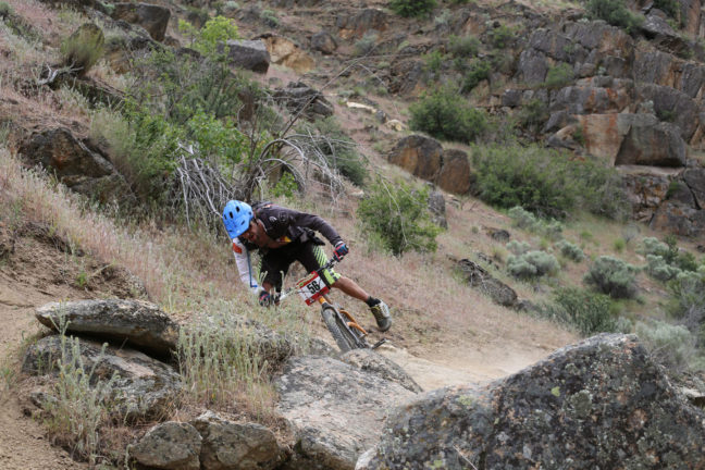 Mike Wieser Dismounted by Concentration Lapse