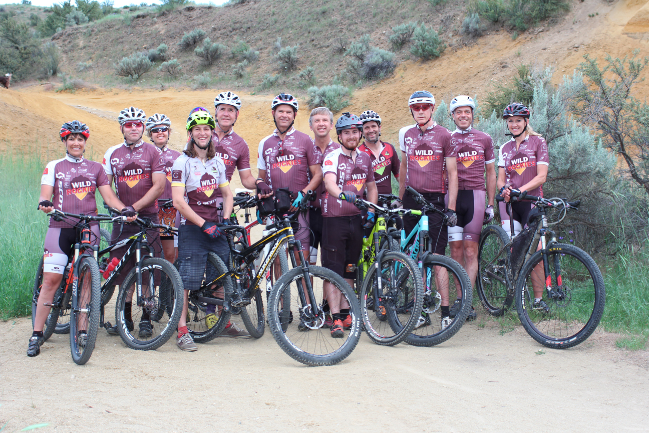 WR Race Team at Red Cliffs June 1, 2015