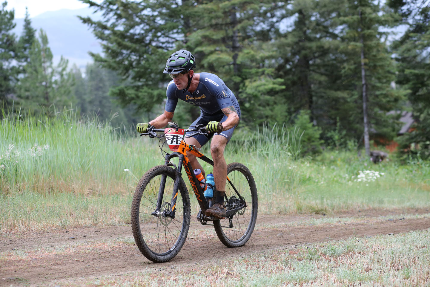 Eric Chizum took second place after fighting back from major first lap setback